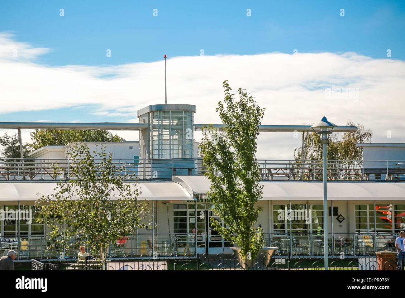 Sywell Hotel and aerodrome - Stock Image