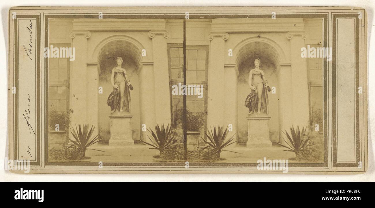 Ponte Caserta; Italian; about 1865; Albumen silver print Stock Photo