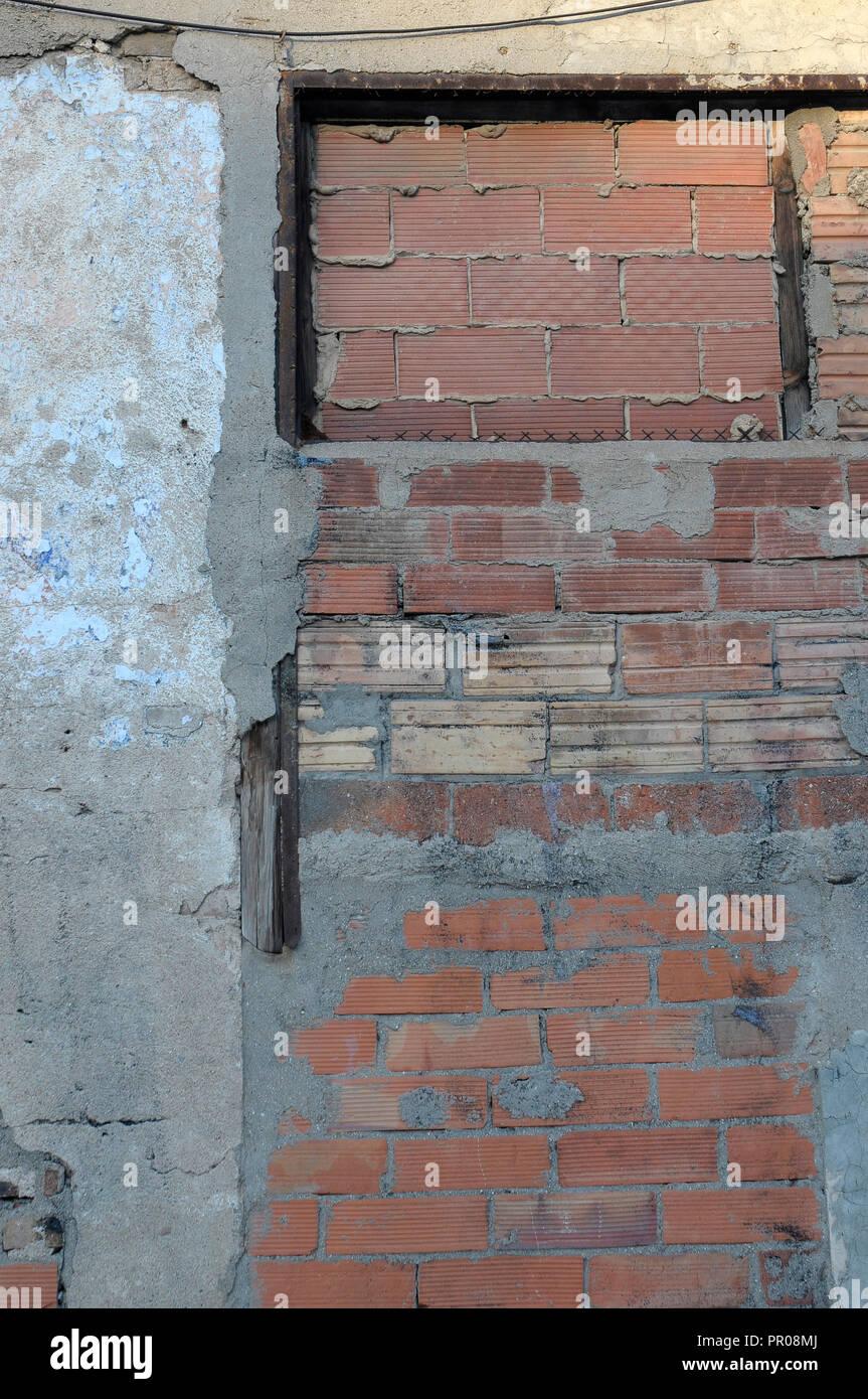 wall original street background - Stock Image