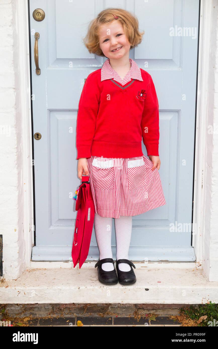 Schoolgirl Red Gingham