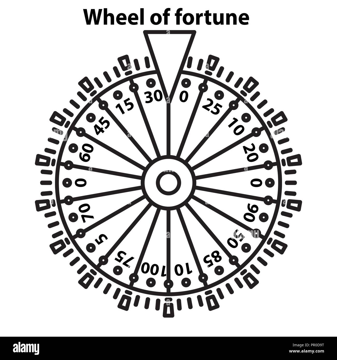 Wheel Of Fortune Stock Photos Wheel Of Fortune Stock Images Alamy