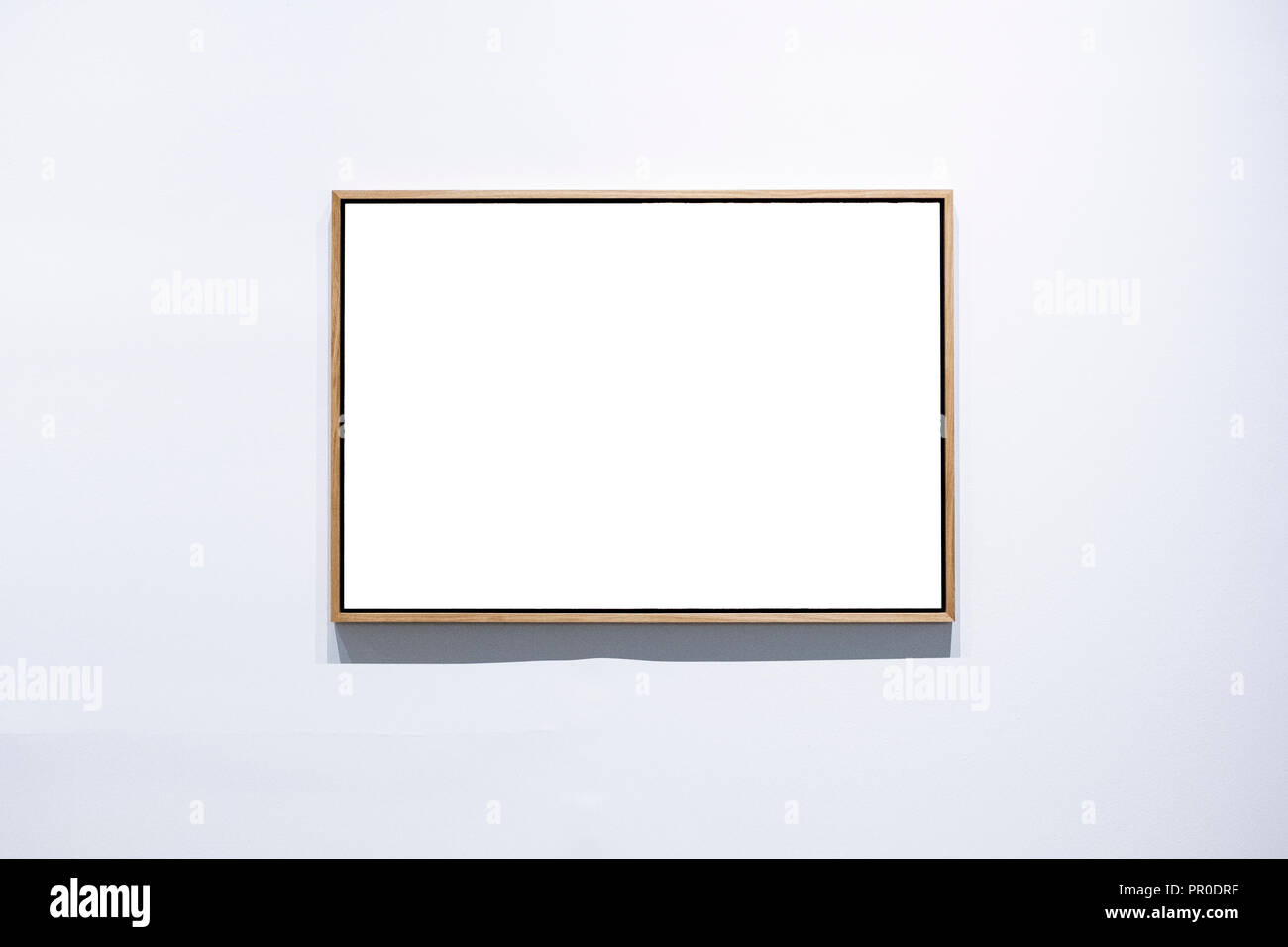 Wood frames on a white background frames on a white background Stock ...