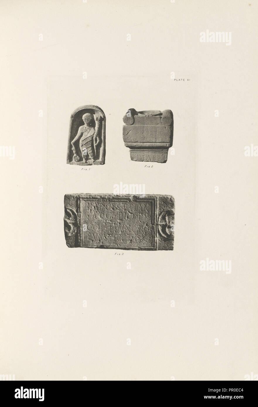 Plate XI; Thomas Annan, Scottish,1829 - 1887, Glasgow, Scotland; 1897; Photogravure; Plate: 15.1 × 10 cm, 5 15,16 × 3 15,16 in - Stock Image