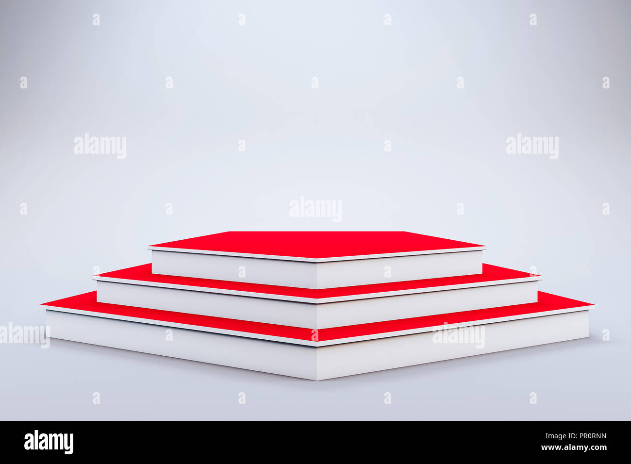3d template of blank empty podium stage stock photo 220680145 alamy