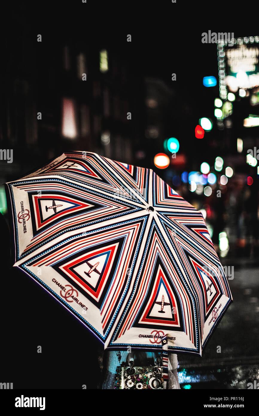 Nightlife in Soho, London, UK - Stock Image