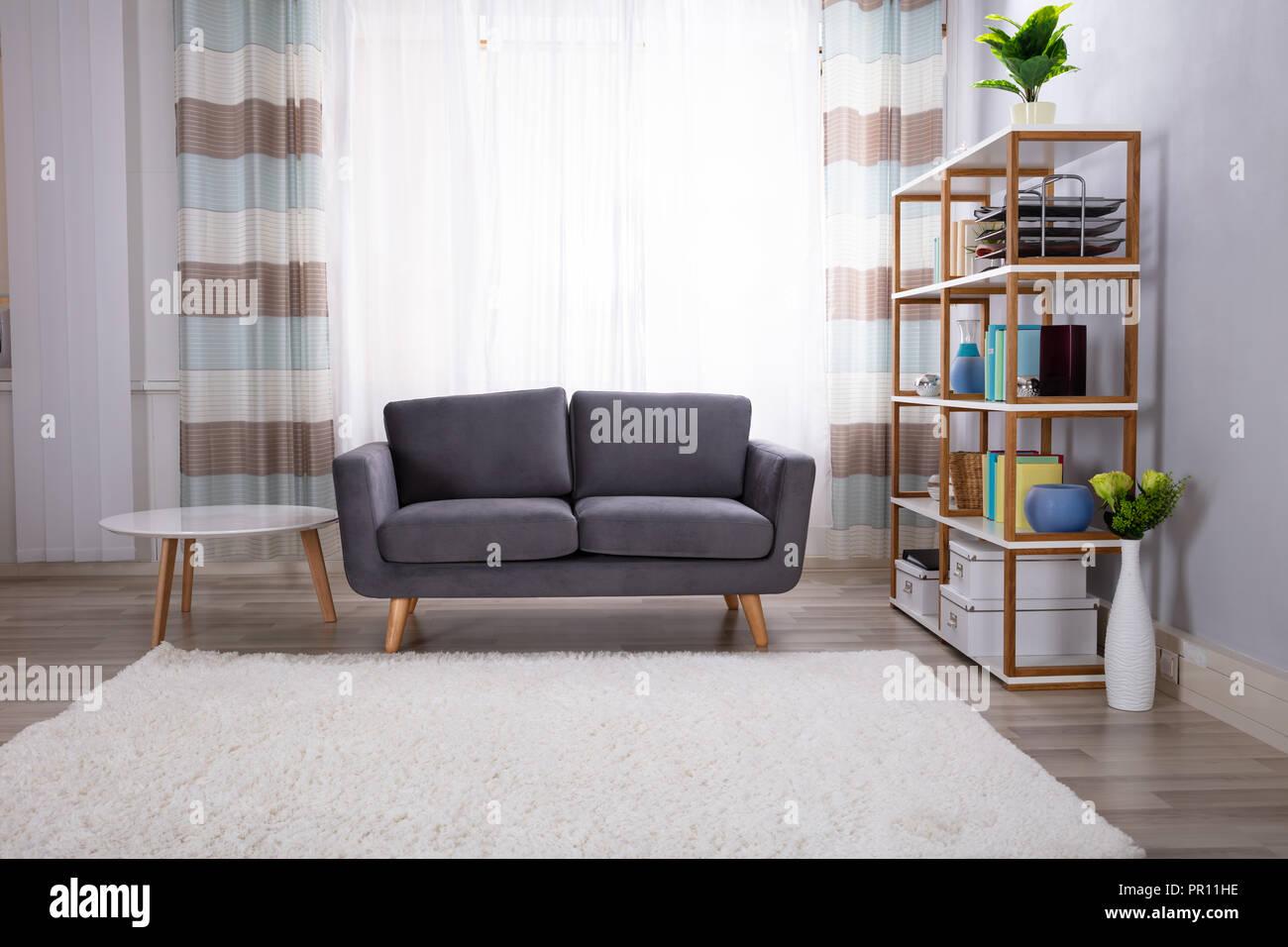 Interior Photo Of Beautiful Modern Living Room Stock Photo ...