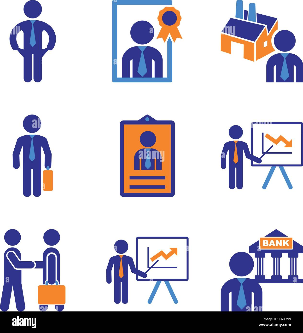Industry management - Stock Vector