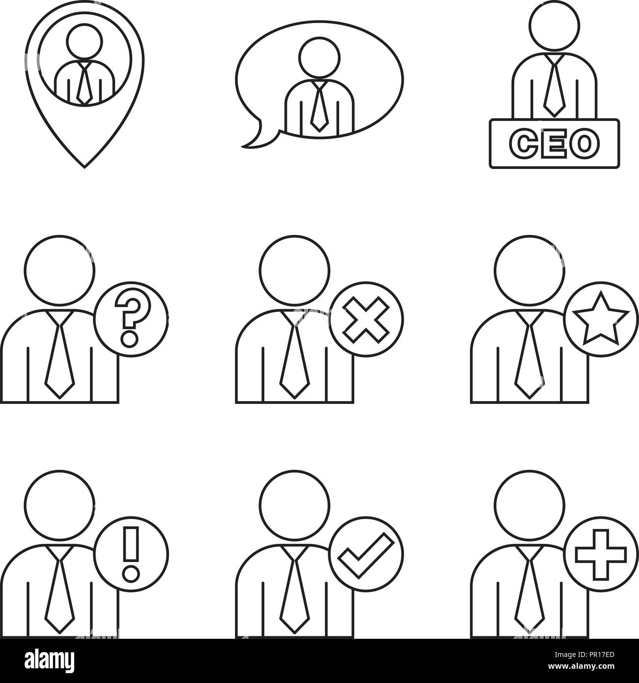 User interactions - Stock Image