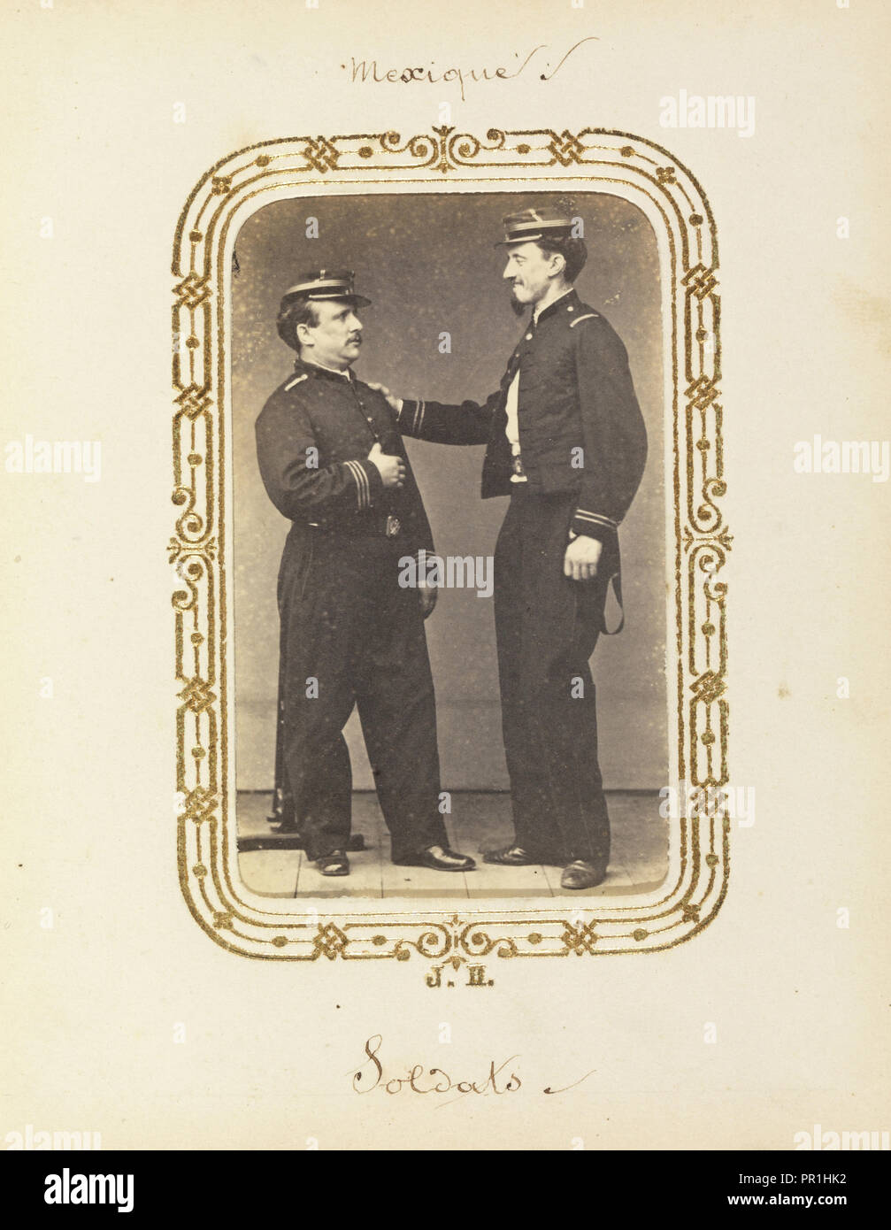 Album Of Mexican And French Cartes De Visite Between 1861 1880