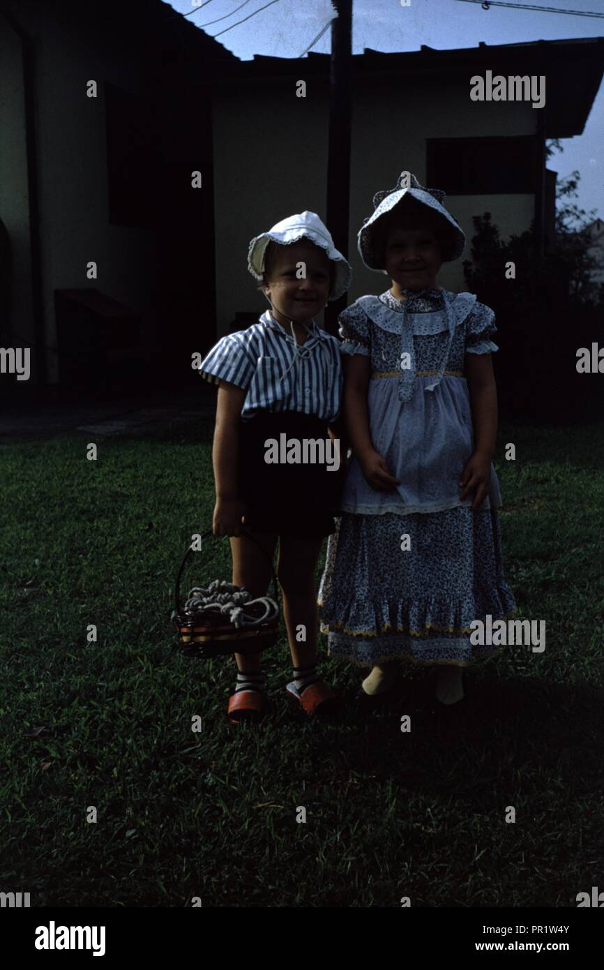 Vintage archival photograph taken in 1965 - Stock Image