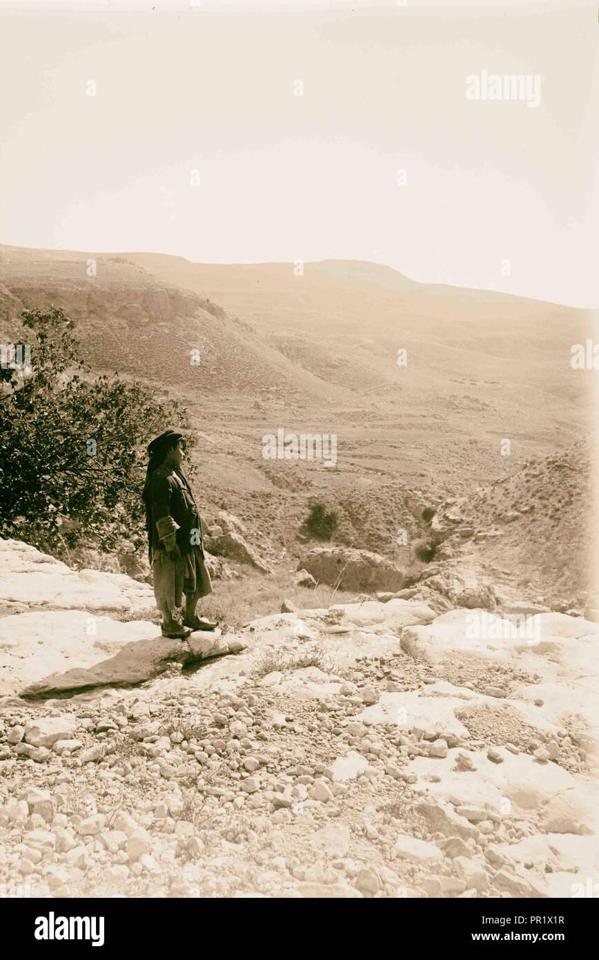 Trans-Jordan, misc. 1898, Jordan - Stock Image