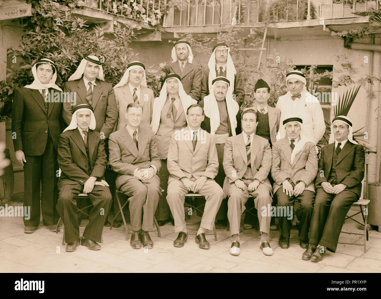 Merchants Association. 1940, Middle East, Israel and/or Palestine - Stock Image