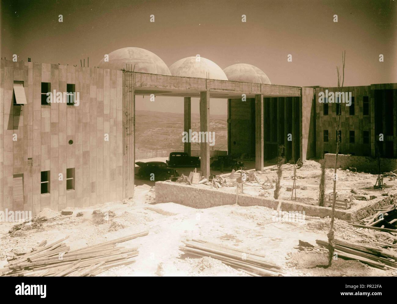 Hadassah University on Scopus  Courtyard between maternity