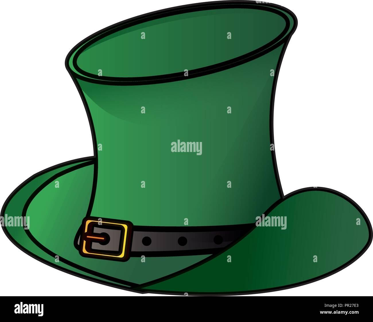 f556ecd9 Irish vintage hat Stock Vector Art & Illustration, Vector Image ...