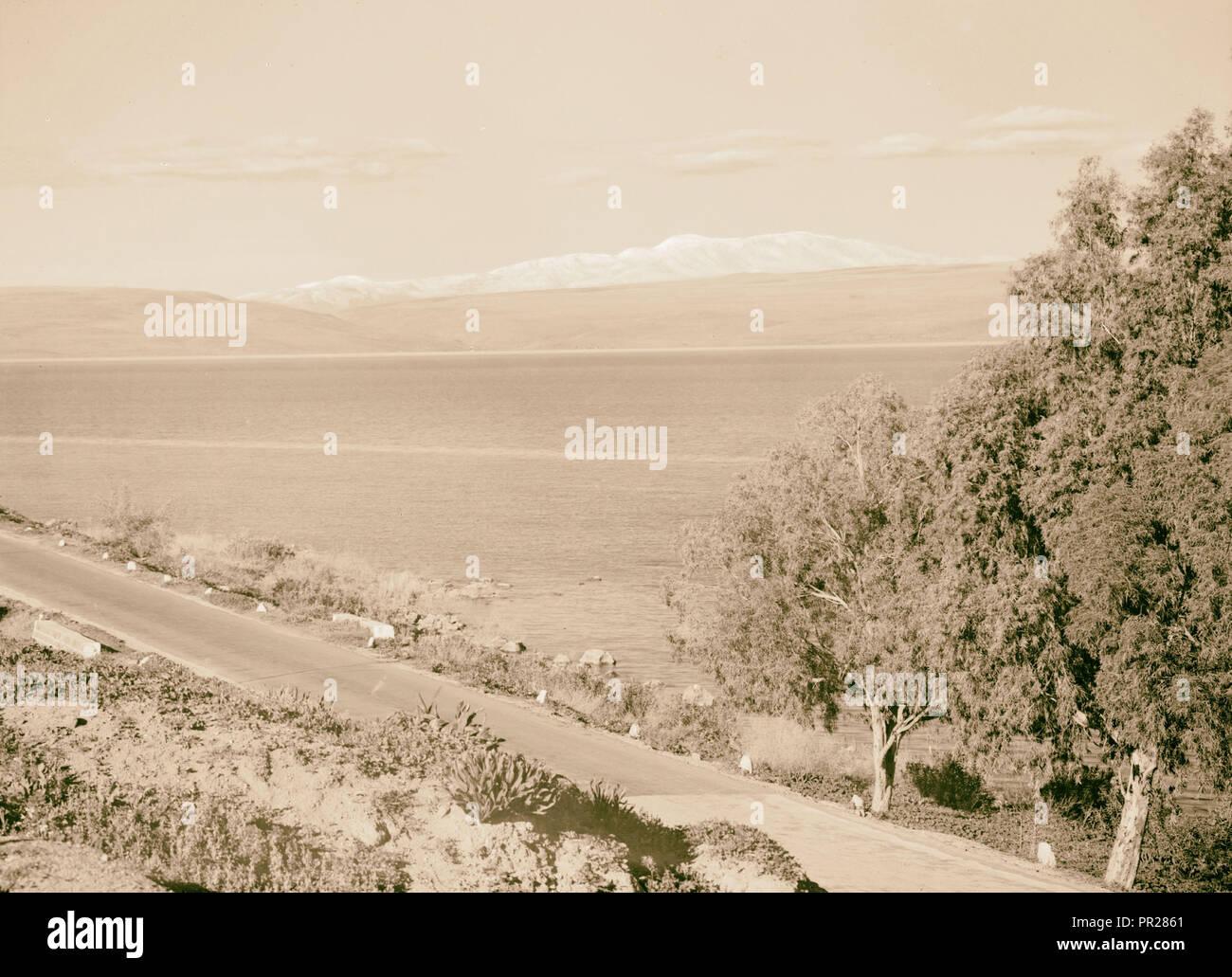 Galilee of Mt. Hermon, taken Feb. 1945. 1945, Israel - Stock Image
