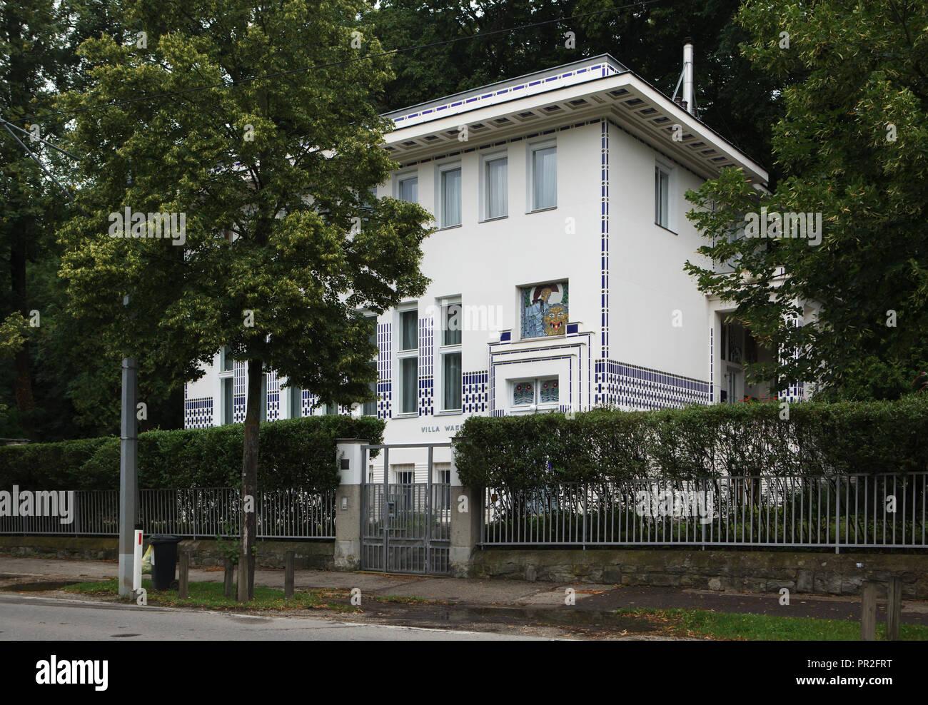 Wagner Villa Ii Designed By Austrian Modernist Architect Otto Wagner