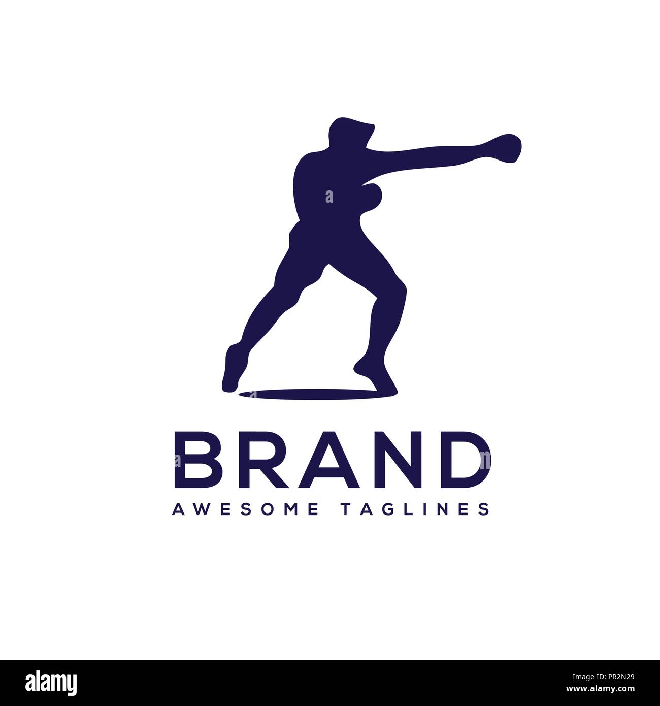 Boxing badge Club Logo vector,  Boxing fight logo , Boxing Club T Shirt, Fight Brutal Theme, Boxing Club Training,Boxing Club Fights - Stock Vector