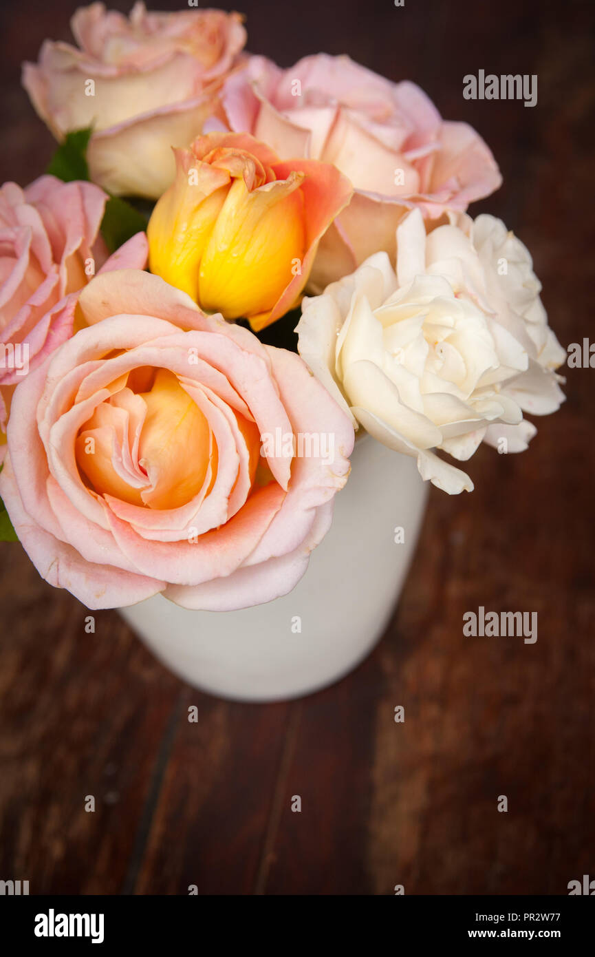 Display of flowers - Stock Image