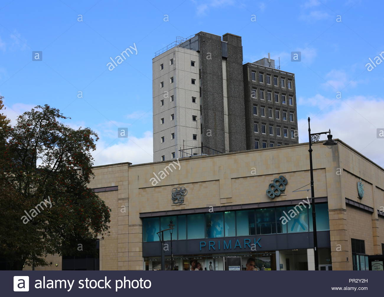 City House office block part of Overgate Centre Dundee Scotland  September 2018 - Stock Image