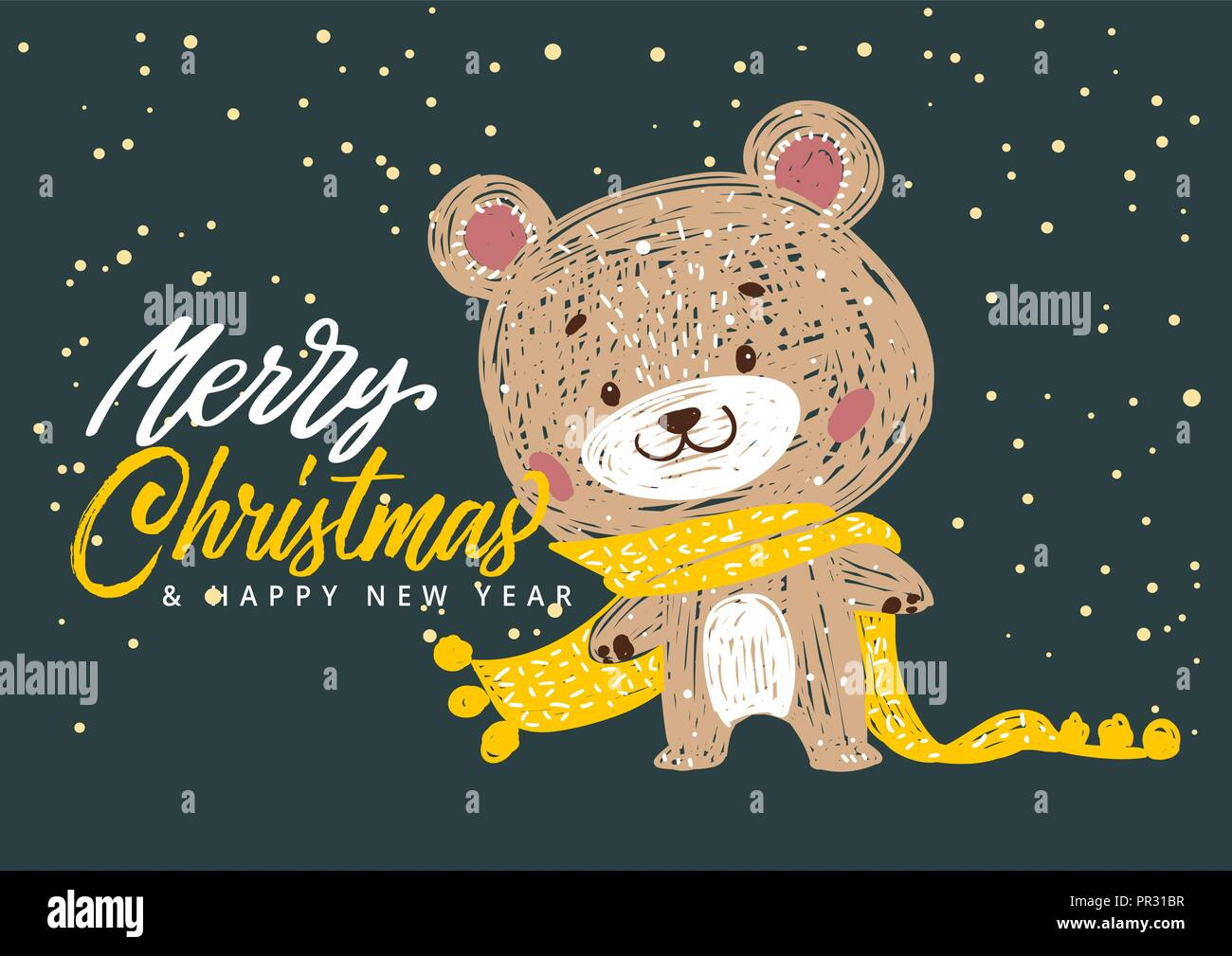 christmas posters vector illustration template for greeting