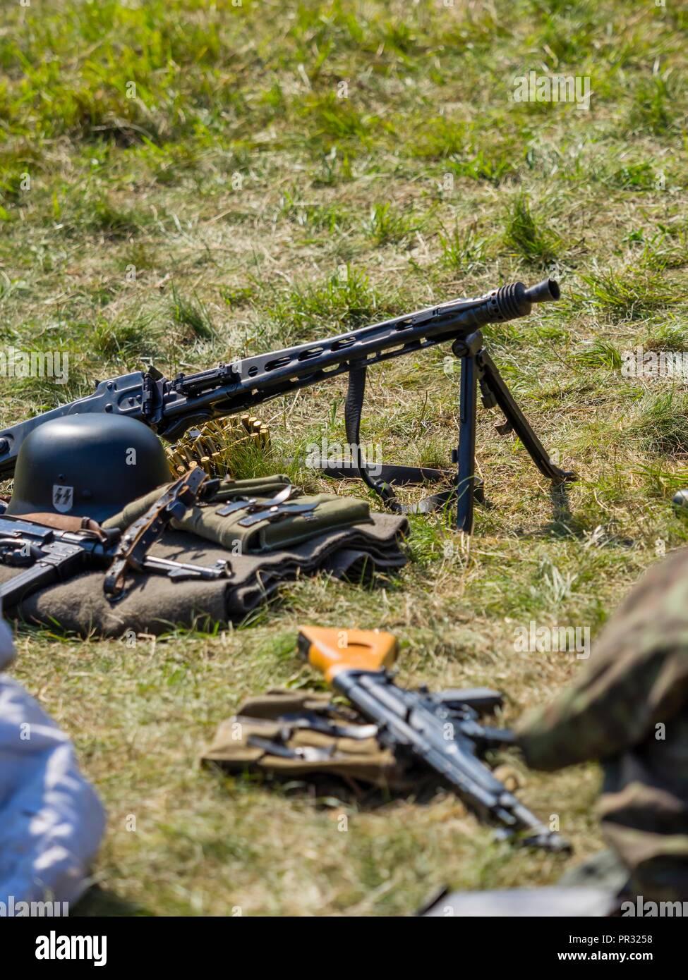 Mg42 Machine Gun Stock Photos & Mg42 Machine Gun Stock Images - Alamy