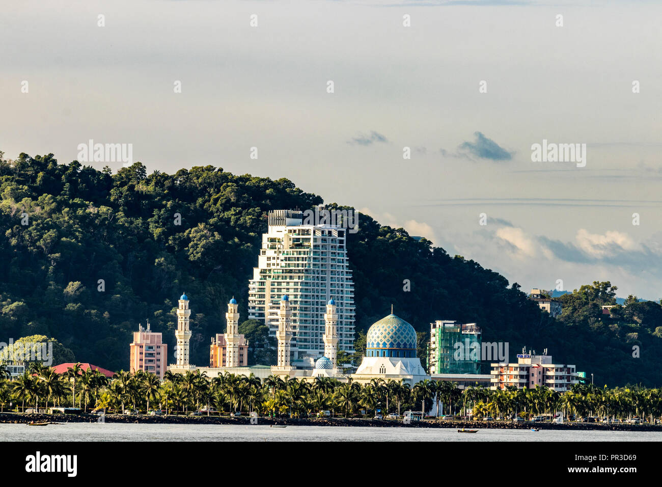 Likas Bay Kota Kinabalu Sabah Malaysia Borneo Stock Photo 220737729