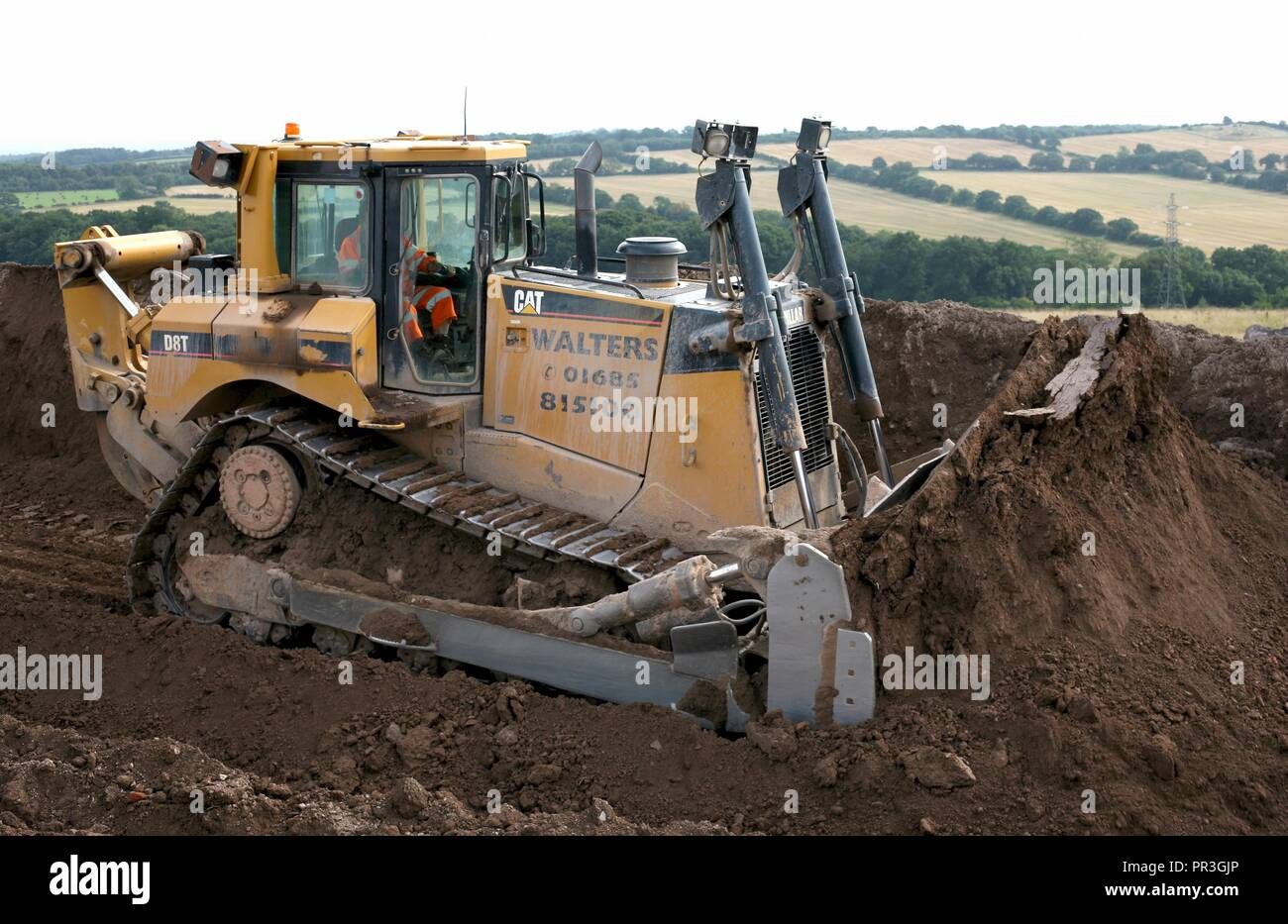Cat Bulldozer Stock Photos & Cat Bulldozer Stock Images - Alamy