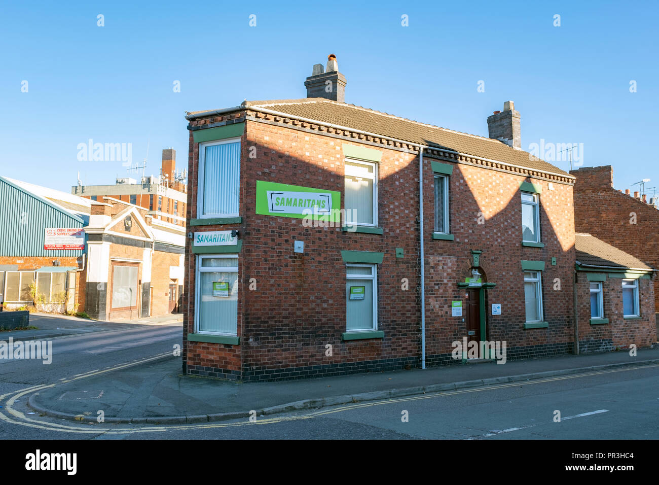 Samaritans office in Crewe Cheshire UK Stock Photo