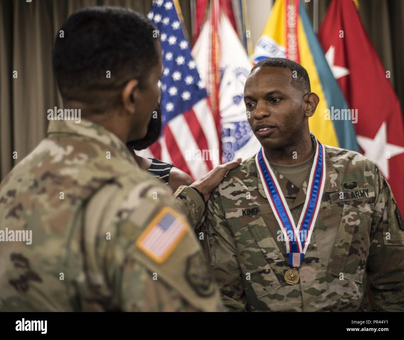 Sgt 1st Class Mario King Us Army Human Resources Command