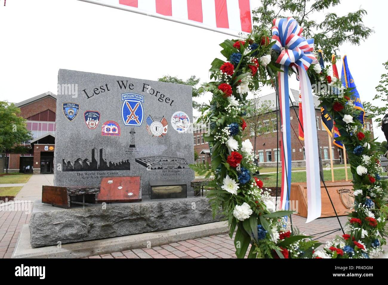Fort Drum community members observed the 17th anniversary of