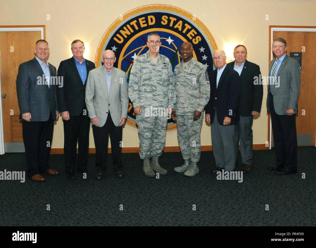 U S  Air Force Gen  John Hyten, commander of U S  Strategic