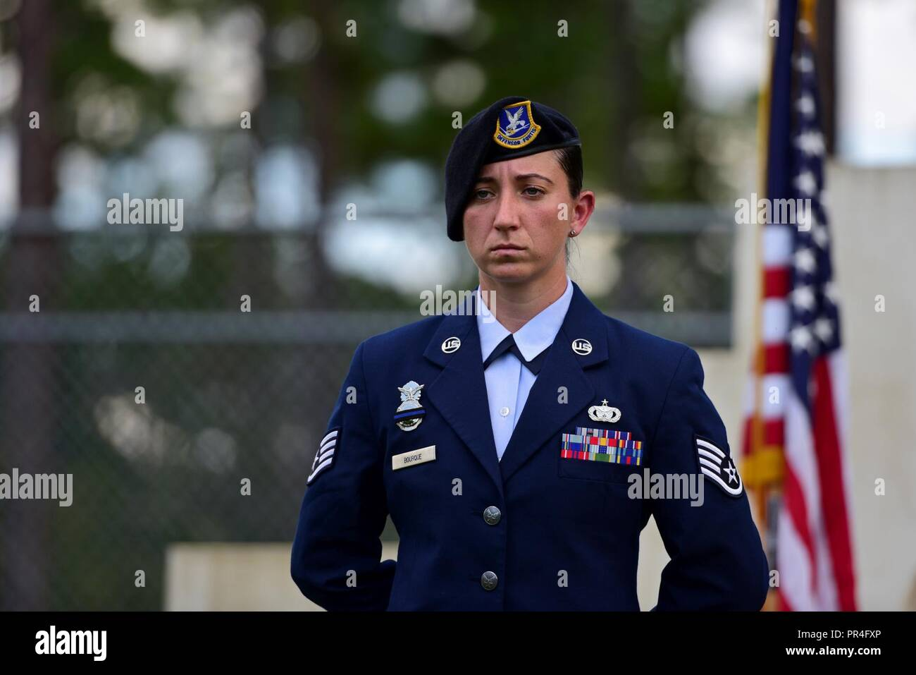 U S  Air Force Staff Sgt  Caitlin Bourque, 325th Security