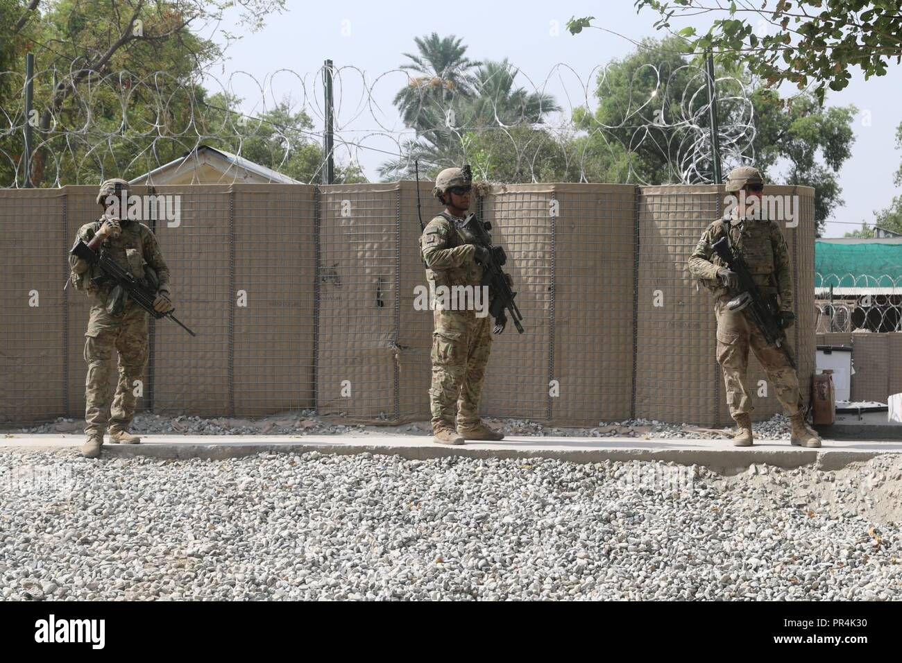Soldiers from 2nd Battalion, 23rd Infantry Regiment, 1st