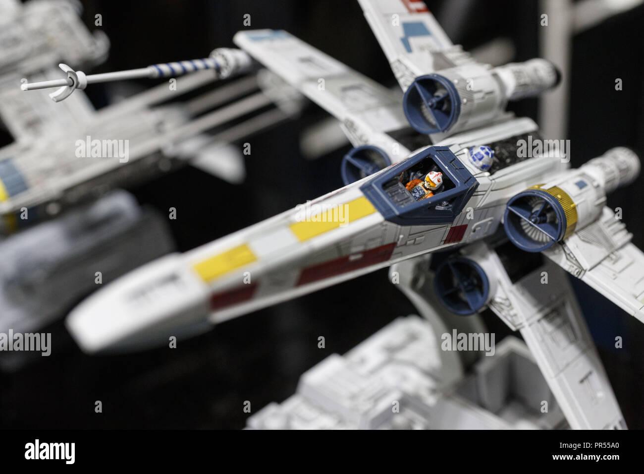Tokyo, Japan  29th Sep, 2018  A Bandai Star Wars plastic model kit