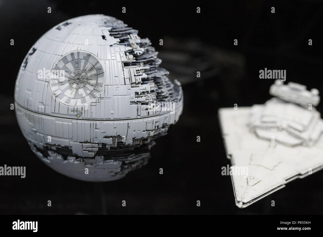 Tokyo, Japan  29th Sep, 2018  A Bandai Star Wars plastic