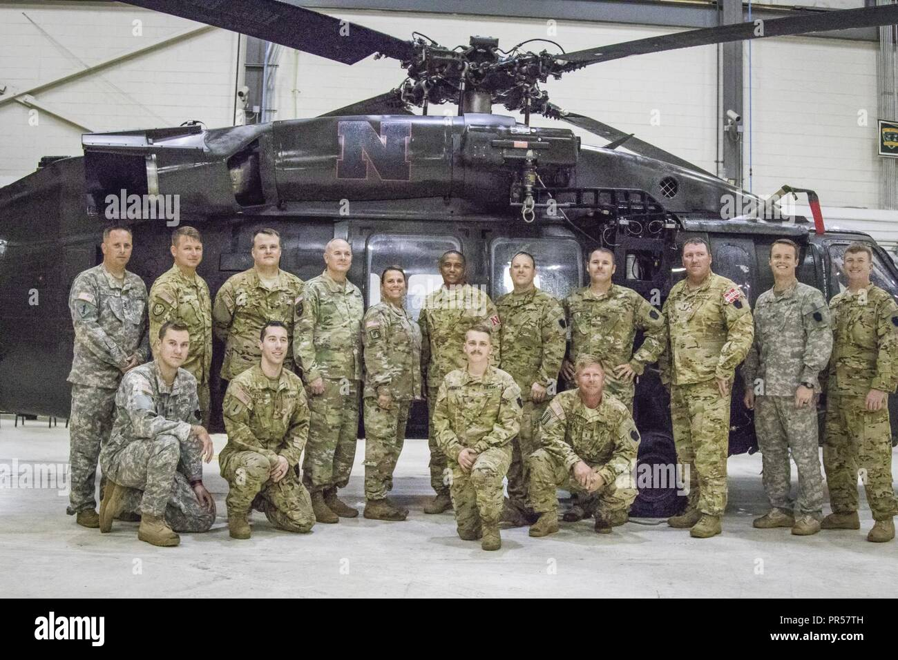 Nebraska Army National Guard Soldiers Assigned To Company G 2 104th