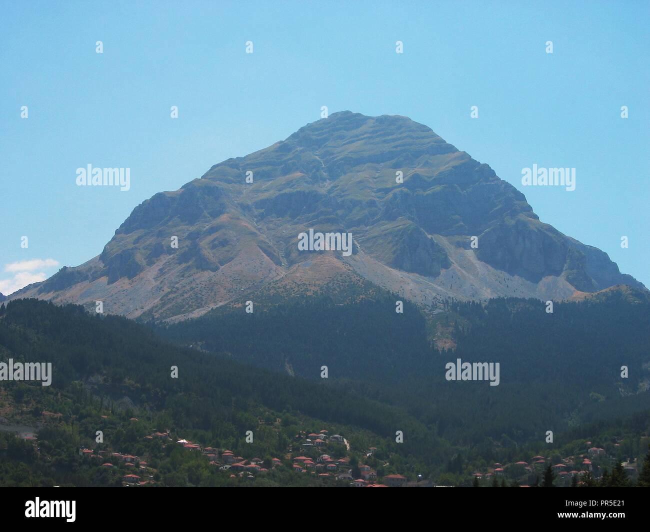 Athamanika or Tzoumerka mountain Epirus Greece - Stock Image