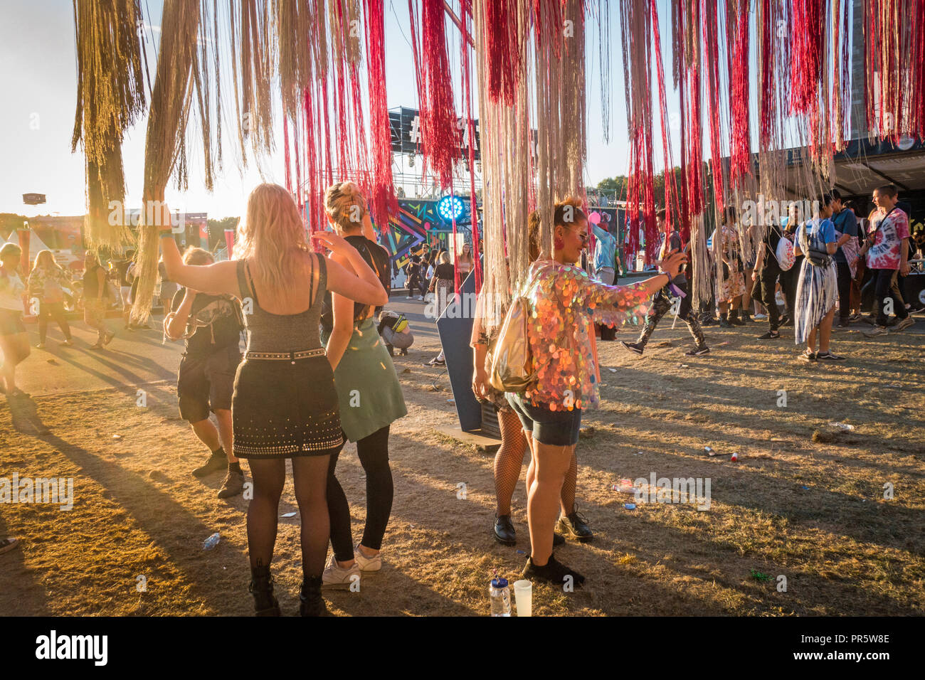 Lollapalooza music festival 2018 Berlin - Stock Image