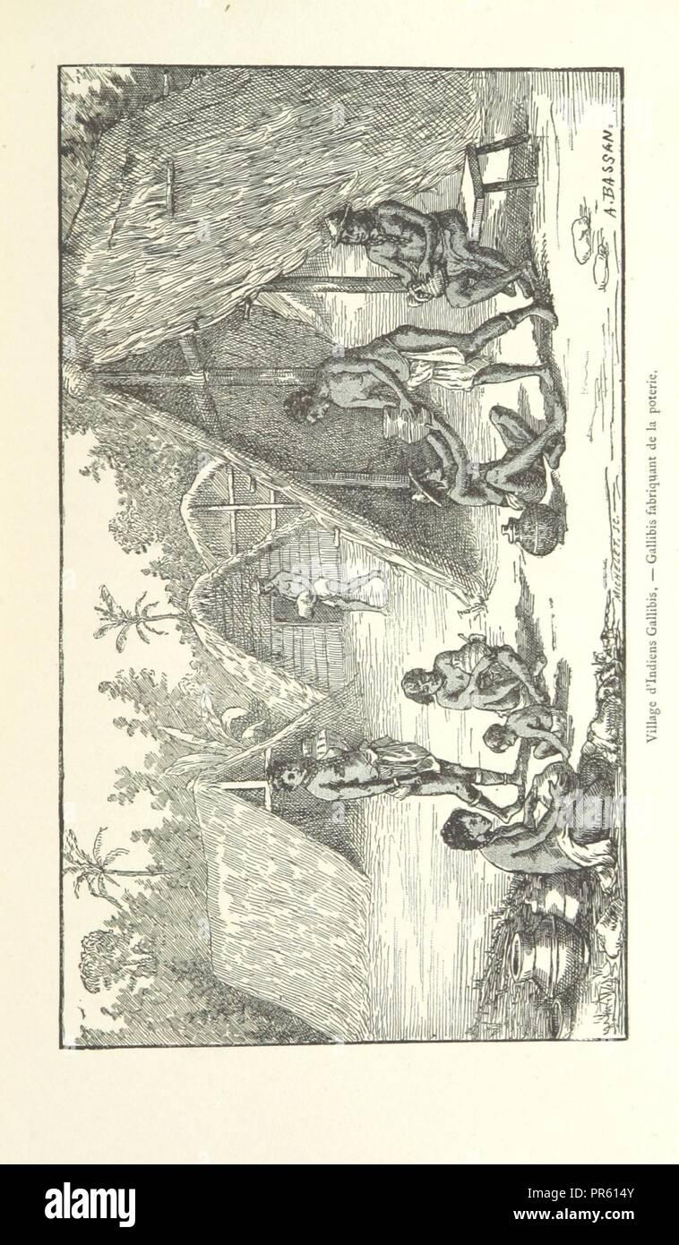 page 67 of 'Les Français en Guyane . Illustrations, etc. [With a preface by H. A. Coudreau.]' . - Stock Image