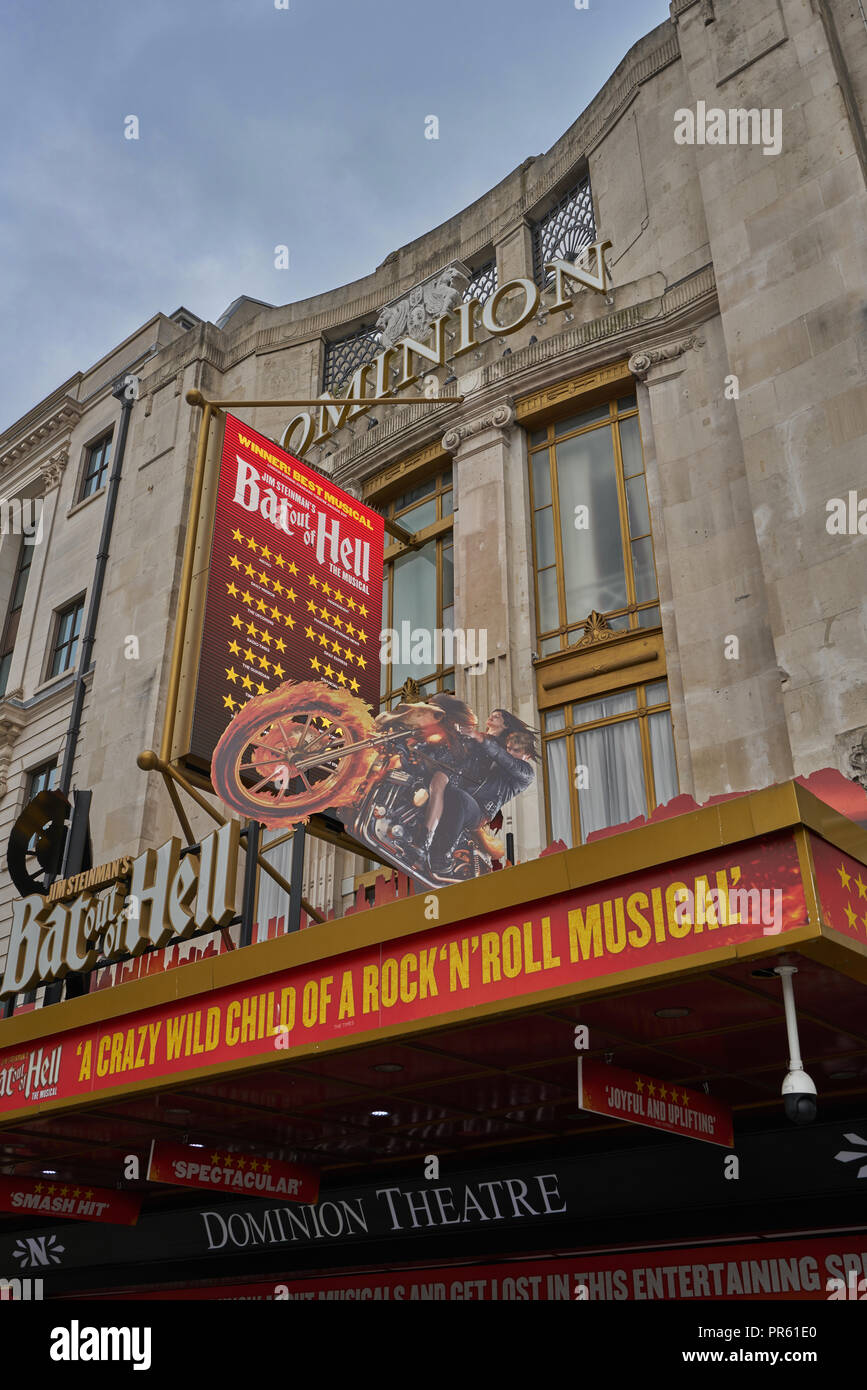 bat out of hell   dominion theatre - Stock Image