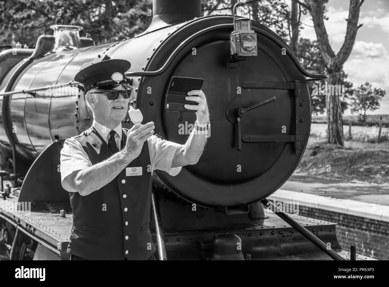 Gloucestershire Warwickshire Railway - Stock Image