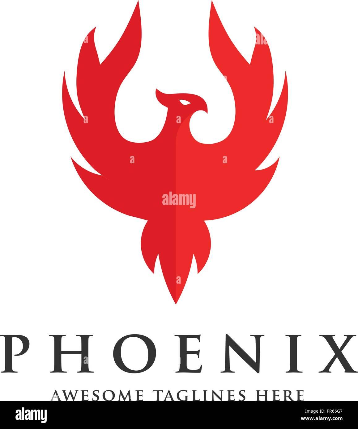 Fantastic Luxury Phoenix Logo Concept Best Phoenix Bird Logo Design Interior Design Ideas Inesswwsoteloinfo