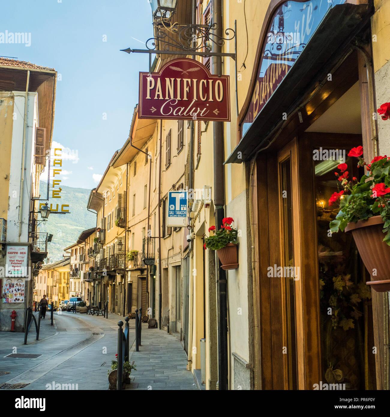Arte Del Rustico Aosta panificio italy stock photos & panificio italy stock images