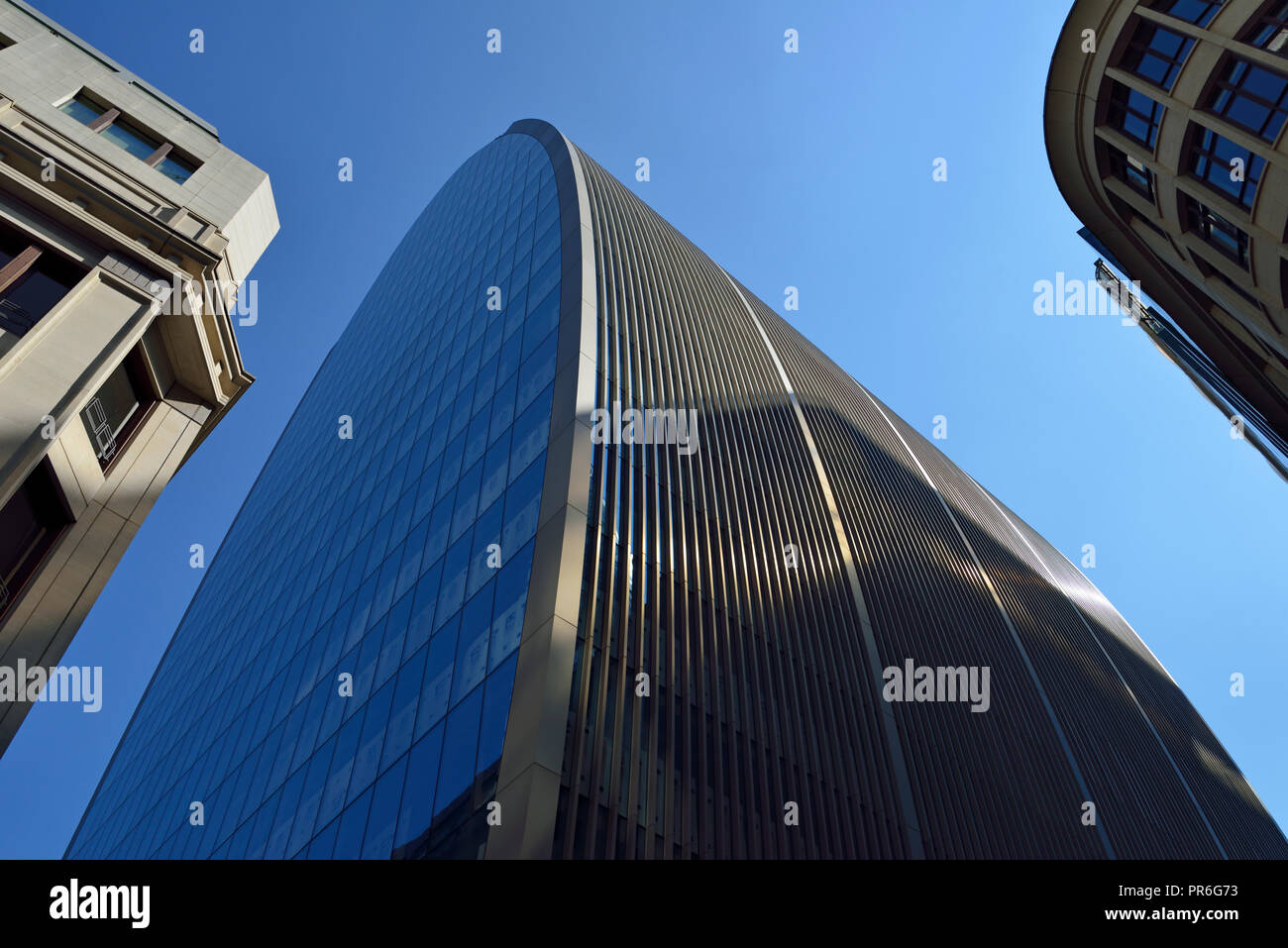 Can of Ham, 70 St Mary Axe, City of London. United Kingdom - Stock Image