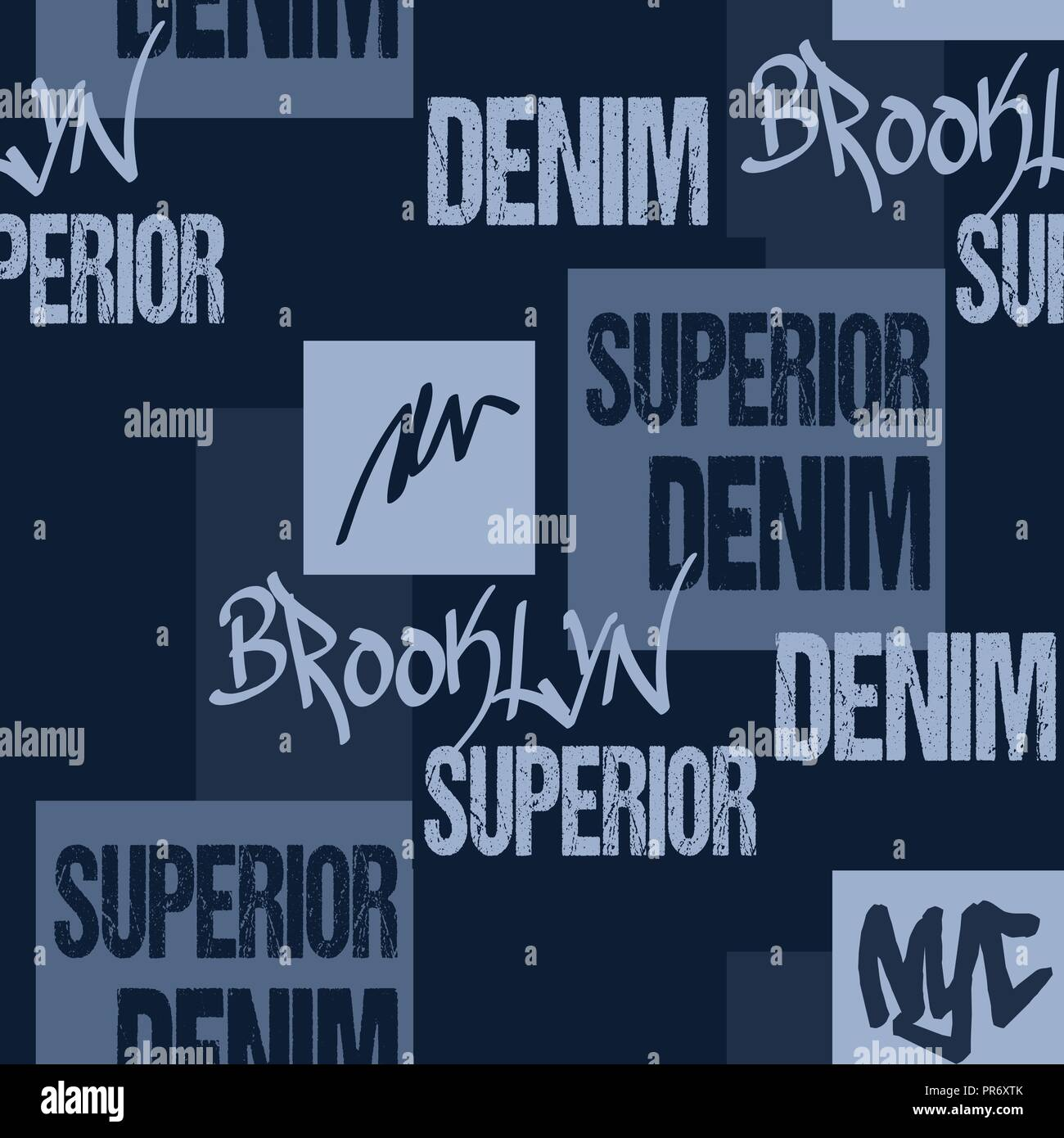 1366cd7e Denim typography, Brooklyn New York Artwork apparel stencil. College Sport T -shirt print, Graphics for print product, apparel tee Fashion Jeans Graphi