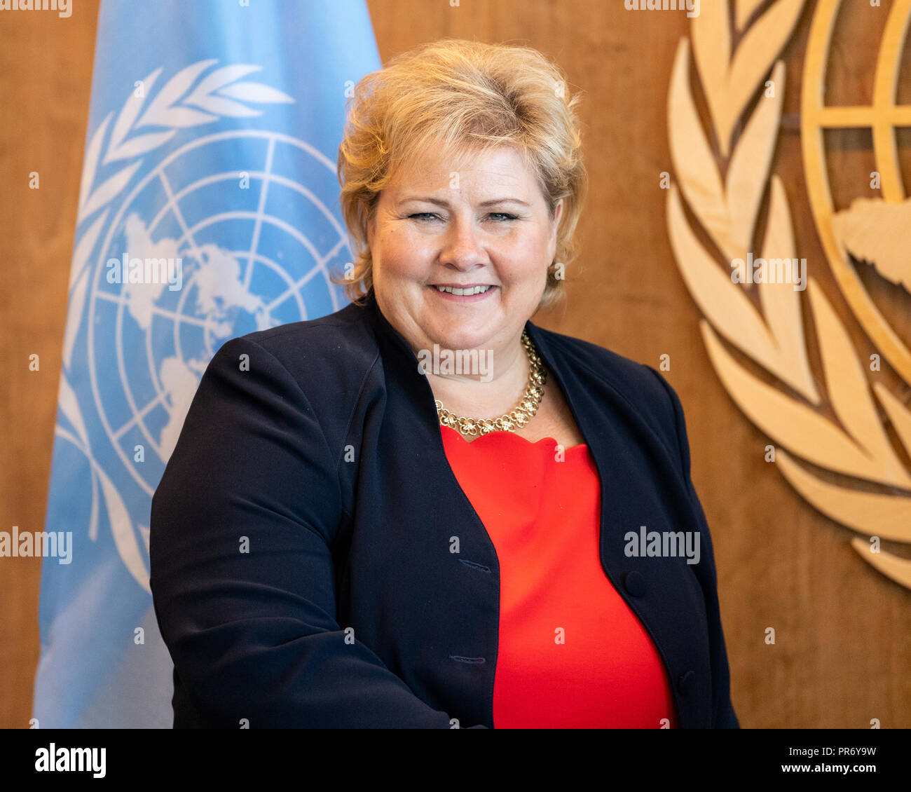 Erna Solberg High Resolution Stock Photography And Images Alamy