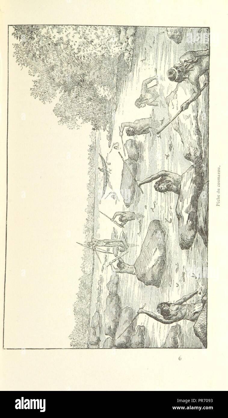 page 89 of 'Les Français en Guyane . Illustrations, etc. [With a preface by H. A. Coudreau.]' . - Stock Image