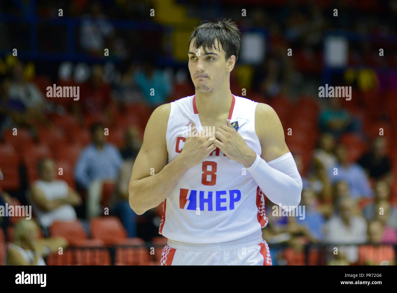 95667e9fb6e0 Dario Saric. Croatia Basketball National Team. FIBA World Cup Spain 2014 -  Stock Image