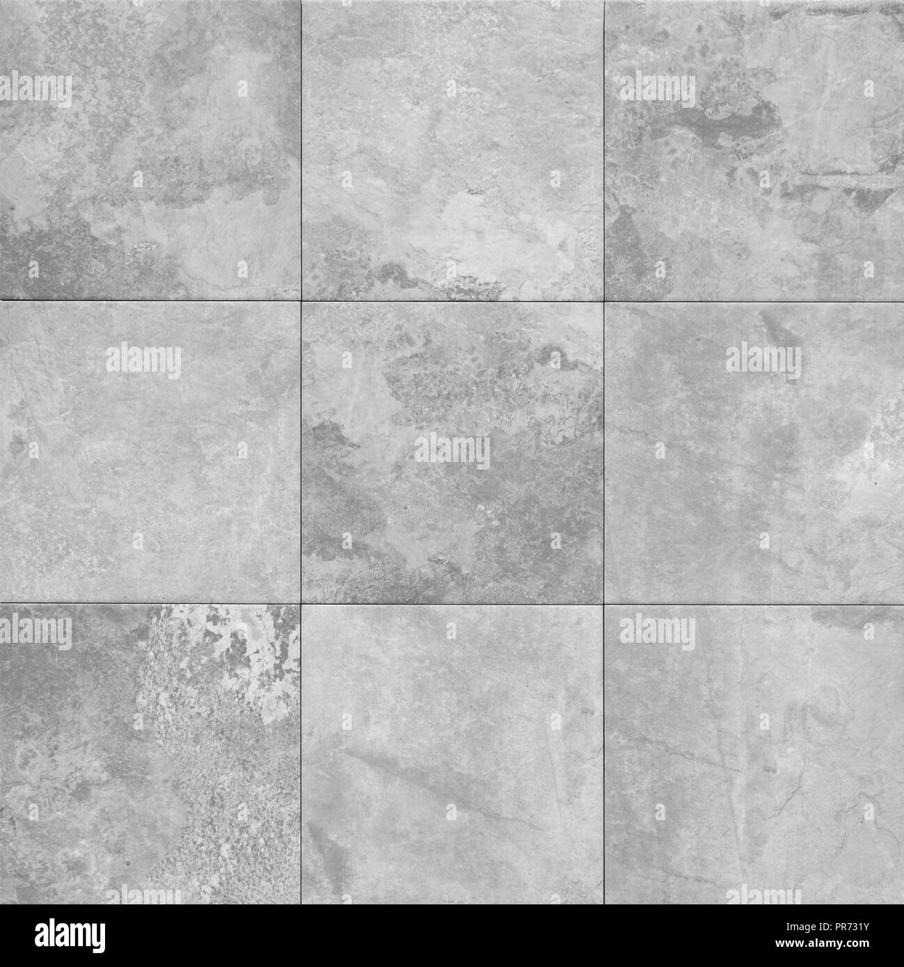 Grey Stone Texture Pattern Patchwork Tile Tiled