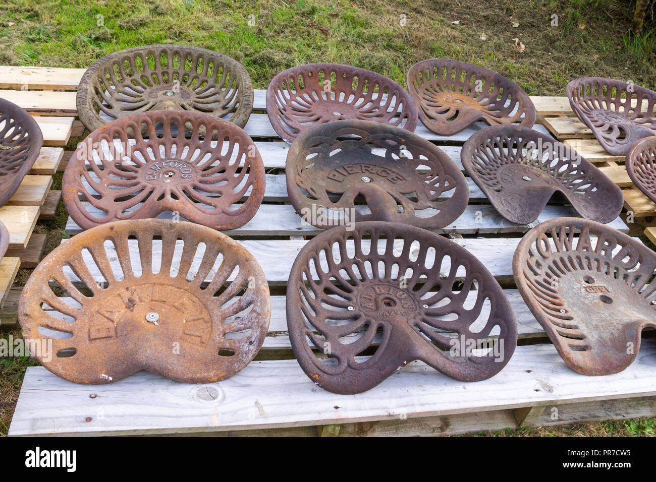 Tractor Seats Stock Photos & Tractor Seats Stock Images - Alamy